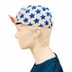 Gorra Ciclista Vintage Azul Estrellas